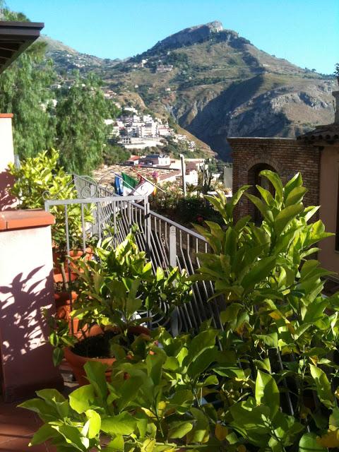 Castelmola Manzarası