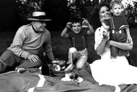 Sophia Loren Carlo Ponti ailesi
