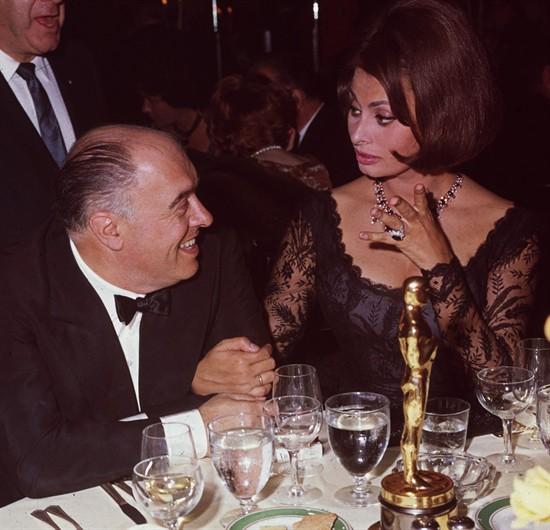 1962 Oscar gala Sophia Loren