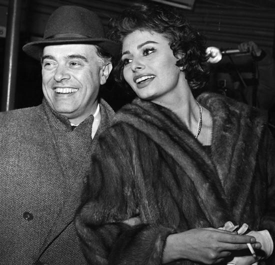 Carlo Ponti ve Sophia Loren