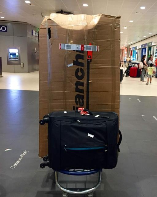 Uçakla Bisiklet Taşıma