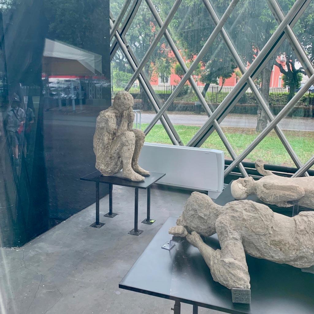 Pompei Taş Olmuş İnsanlar