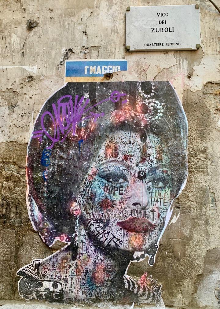 Sophia Loren Street Art Napoli