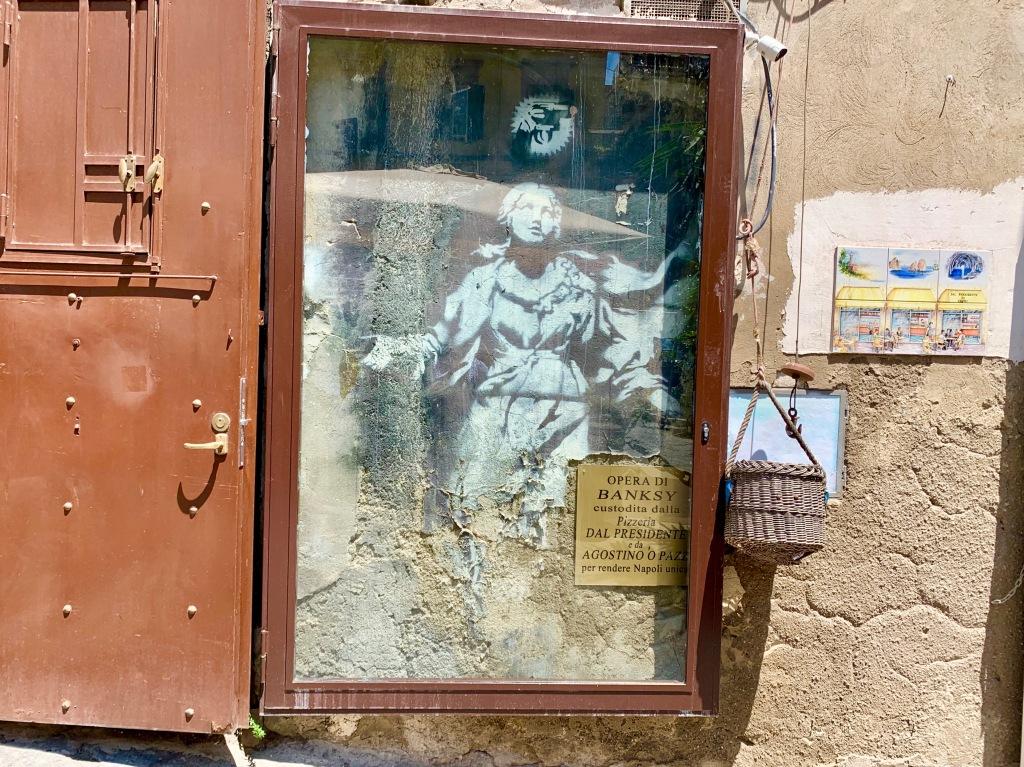 Banksy Napoli Pizzeria Dal President