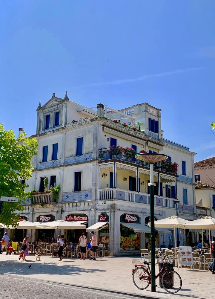 Lido Adası Sokakları - Venedik