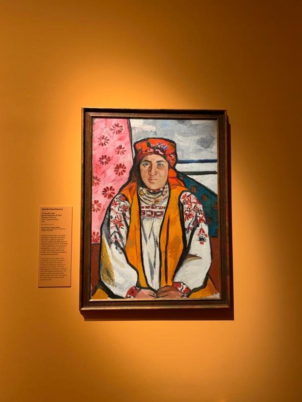 Peasant Woman from Tula (1910) State Tretyakov Gallery (Moskova - Rusya)
