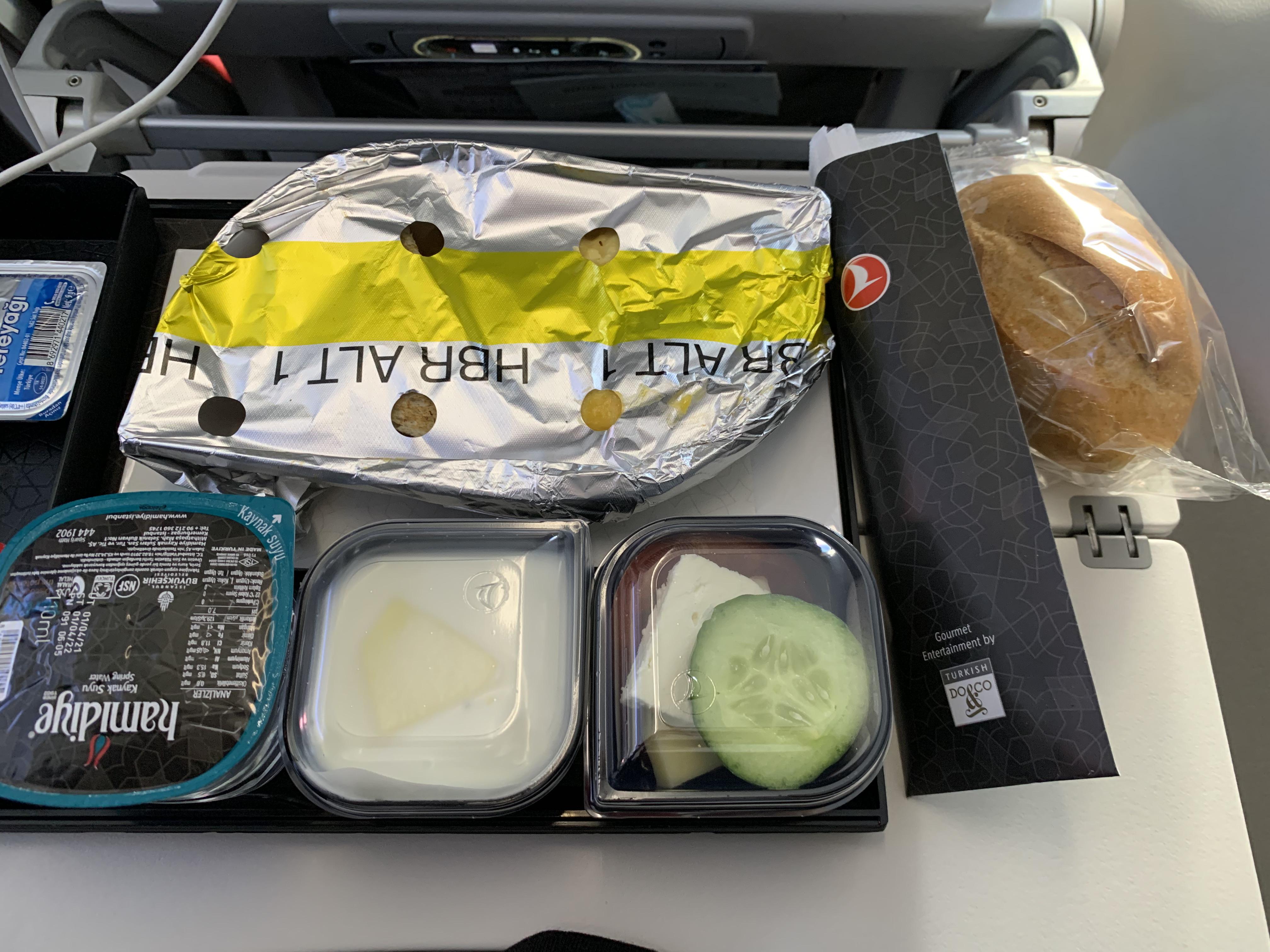 THY TK1321 Kahvaltı